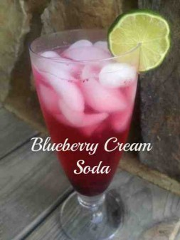 Blueberry Cream Soda