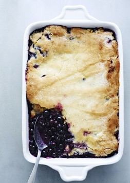 Georgia Blueberry Cobbler