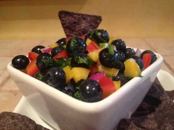 Georgia Blueberry Salsa