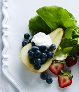 Red, White and Georgia Blueberry Salad
